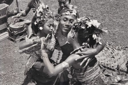 Henri Cartier-Bresson-La danse Alloeng Kotjok, Sajan, Bali-1949