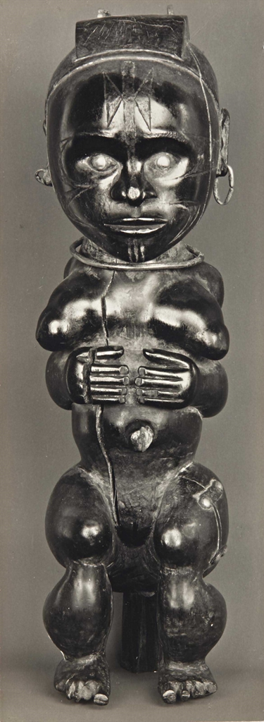 Walker Evans-Sculpture africaine-1935