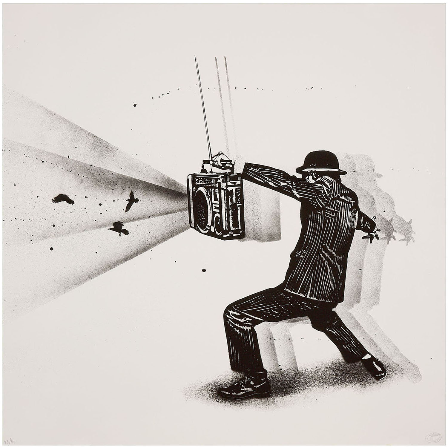 Nick Walker-Ghetto Blaster Vandal-