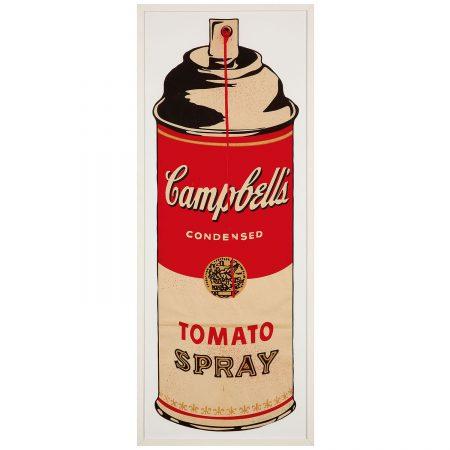 Mr. Brainwash-Campbell's Tomato Spray-2008