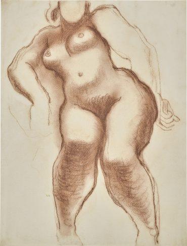 Frank Dobson-Female Nude