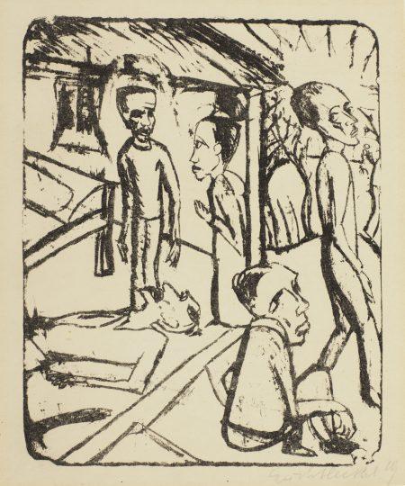 Erich Heckel-Die Bruder Karamasow-1919