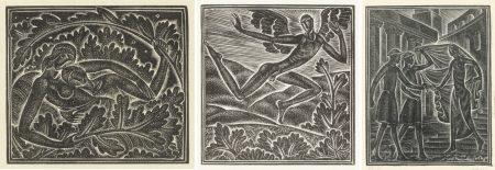 Eric Gill-ThreeIllustrationsFrom Canticum Canticorum-1930