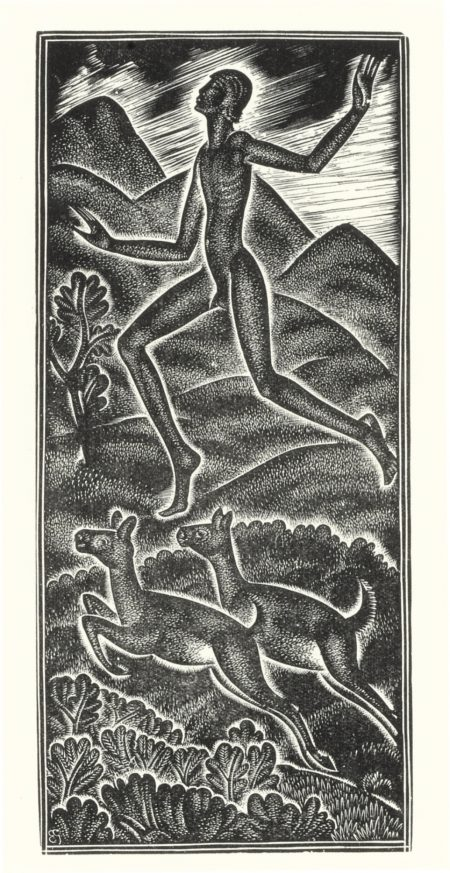 Eric Gill-Six Illustrations From Canticum Canticorum-1930