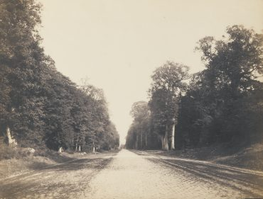 Eugene Cuvelier-Route Pavee De Chailly Vers-1863