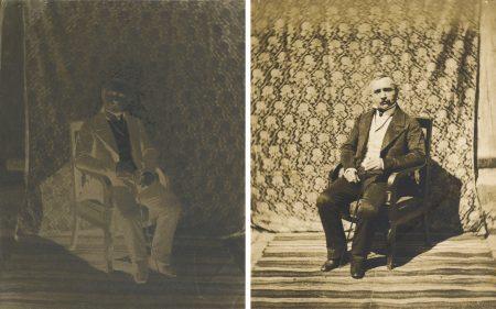 Charles Negre-Homme AssisParis-1853