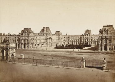Edouard Baldus-Place Du Carrousel Louvre-1855