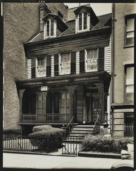 Berenice Abbott-Joralemon Street New York-1937