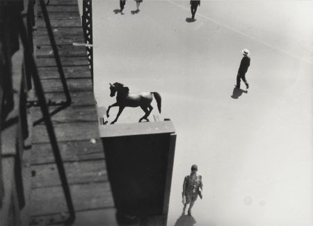 Berenice Abbott-El At Columbus And Broadway New York City; Garibaldi On Washington Square;  Chelsea-1937