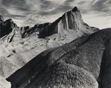 Ansel Adams-Manly Beacon Death Valley National Monument Californie Vers -1952