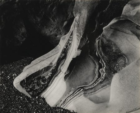 Edward Weston-Eroded Rock Point Lobos-1930
