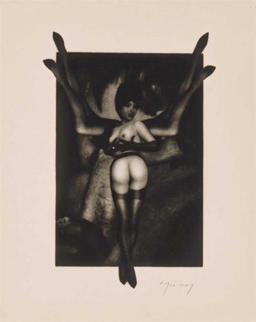 Pierre Molinier-Le stylite-1969