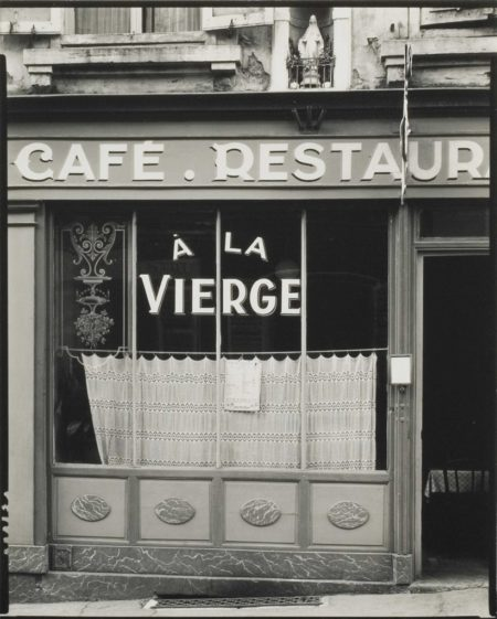 Paul Strand-Cafe-restaurant, A la Vierge, Nancy-1950