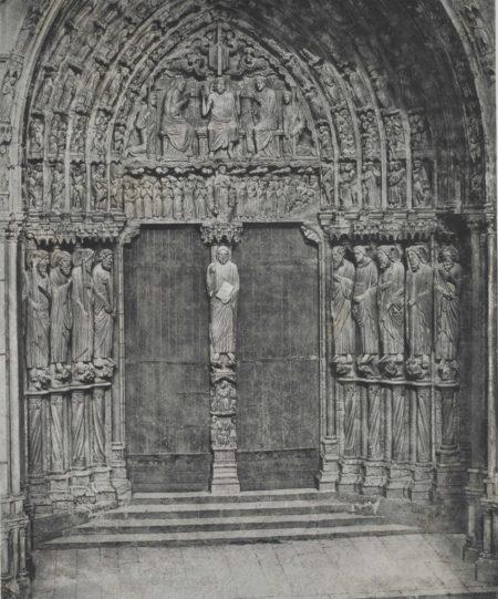Cathedrale de Chartres. Porche meridional. Porte Centrale-1857