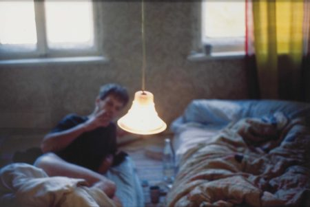 Nan Goldin-David in bed, Leipzig-1992