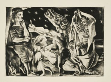 Pablo Picasso-La Suite Vollard-1937