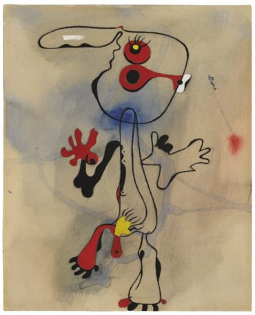 Joan Miro-Personnage-1935