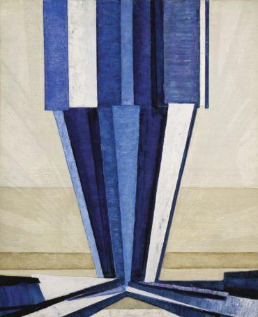 Frantisek Kupka-La Forme Du Bleu-1924