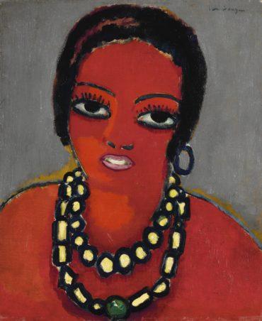 Kees van Dongen-Fatimah Ismael De Louxor-1912