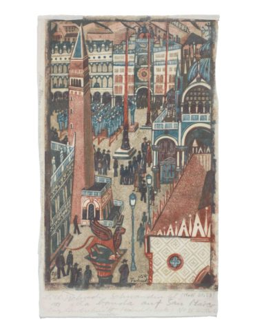 Lill Tschudi-The Band at St. Marks Square (Not in Coppel)-1951