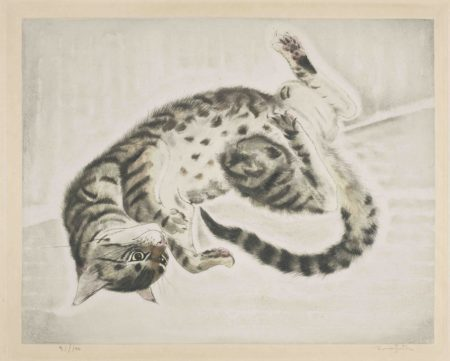 Twisting Cat, from Les Chats (Buisson 29.200.1)-1930