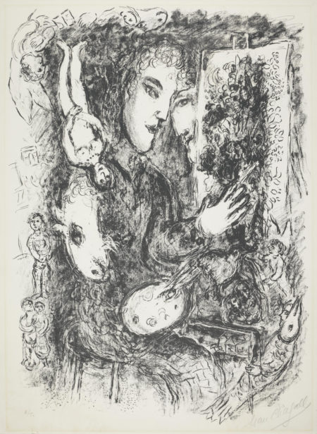 Marc Chagall-Inspiration (Mourlot 837)-1976