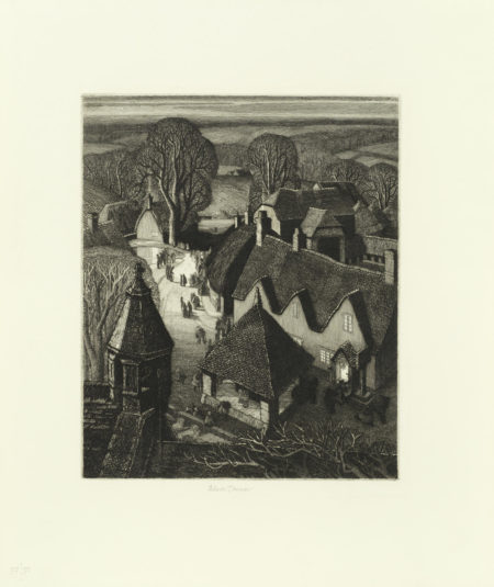 Robin Tanner-Twelve Etchings-1974