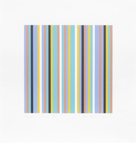 Bridget Riley-Serpentine Print (Schubert 39)-1999