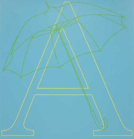 Michael Craig-Martin-Alphabet-2007
