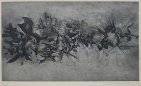 Zao Wou-Ki-Untitled (Agerup 120)-1959