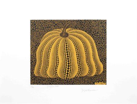 Yayoi Kusama-Pumpkin 2000 (Yellow)-2000