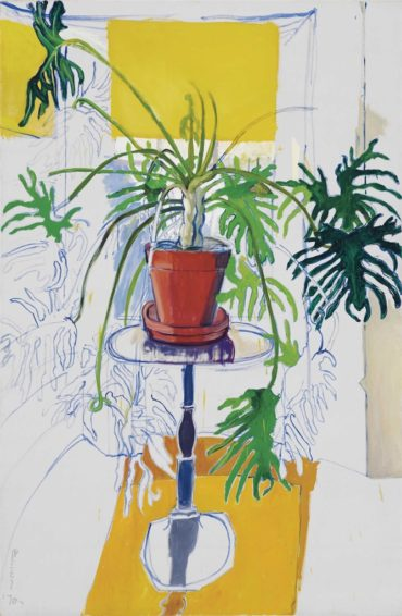 Alice Neel-Philodendron-1970
