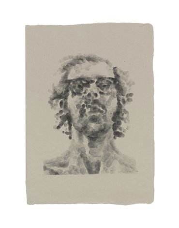 Chuck Close-Self-Portrait-1980