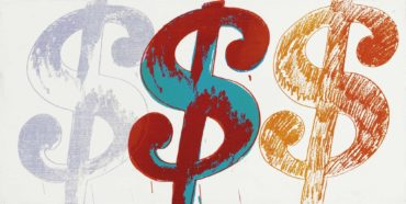 Andy Warhol-Triple Dollar Sign-1981