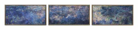 Vik Muniz-Waterlilies, After Monet (Pictures of Magazines)-2005