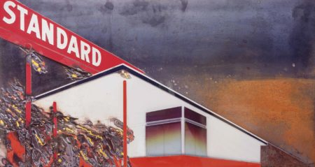 Burning Standard, After Ed Ruscha (Pictures of Cars)-2008