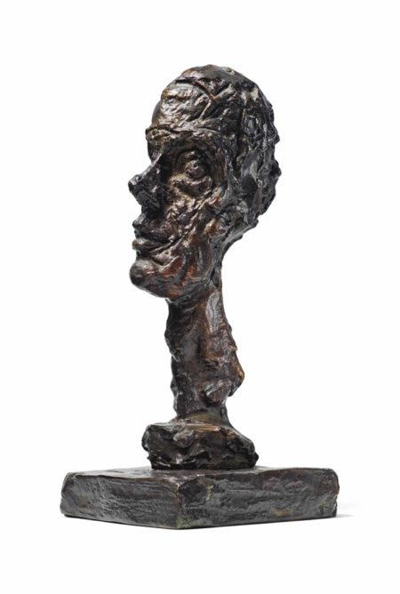 Alberto Giacometti-Tete d'homme-1961