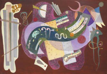 Wassily Kandinsky-Rigide et courbe-1935