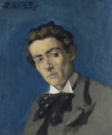 Pablo Picasso-Portrait de Renart-1899