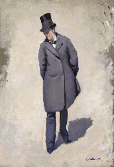Gustave Caillebotte-Le Pont de l'Europe, etude partielle-1876