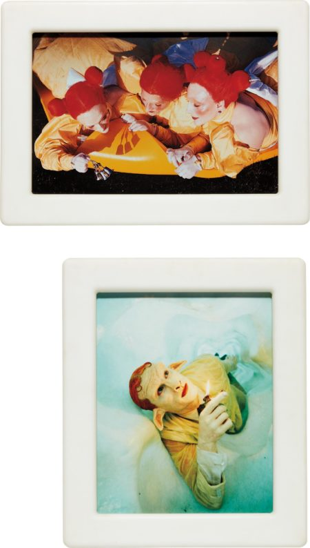 Matthew Barney-Cremaster 4: Field of the Ascending Faerie (Diptych)-1994