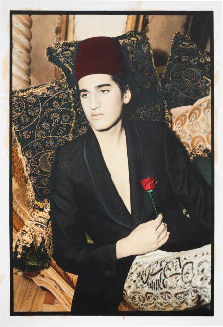 Youssef Nabil-Lonely Pasha, Cairo-2002