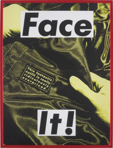 Barbara Kruger-FACE IT (Yellow)-2007