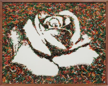 Vik Muniz-The White Rose (from the Monad Series)-2003