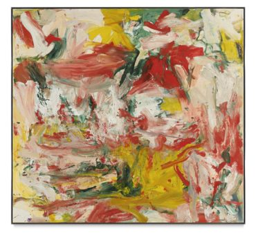 Willem de Kooning-Untitled-1977