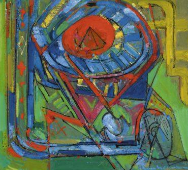 Hans Hofmann-Serenity-1947