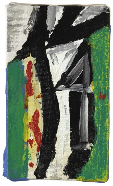 Robert Motherwell-Untitled (With Green Yellow And Red)-1986