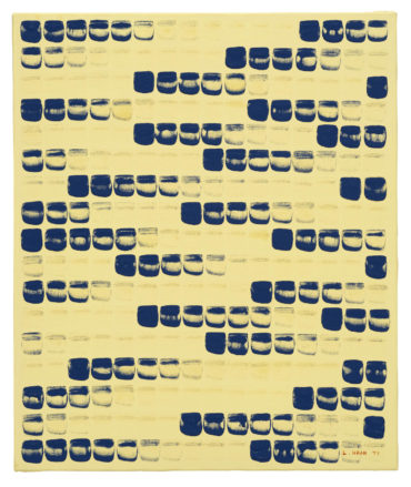 Lee Ufan-From Point No. 790278-1979