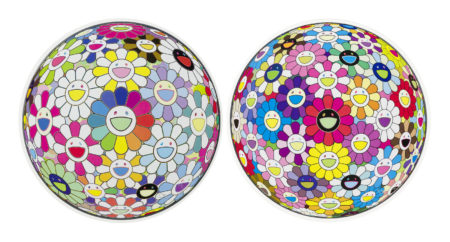 Takashi Murakami-Flowerball: Want to Hold You& Multicolors-2015