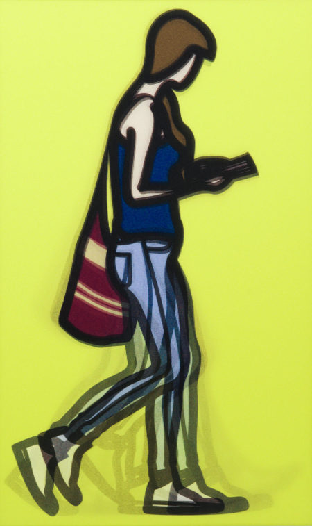 Julian Opie-Waitress-2014